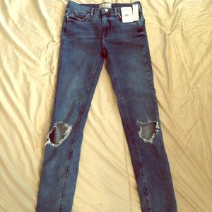 NWT Free People women's jeans size 27